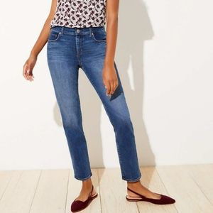 Loft Womens Modern Straight Jeans Petite 12 / 31P